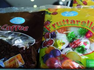 Fruttarella & Coffee Lollies